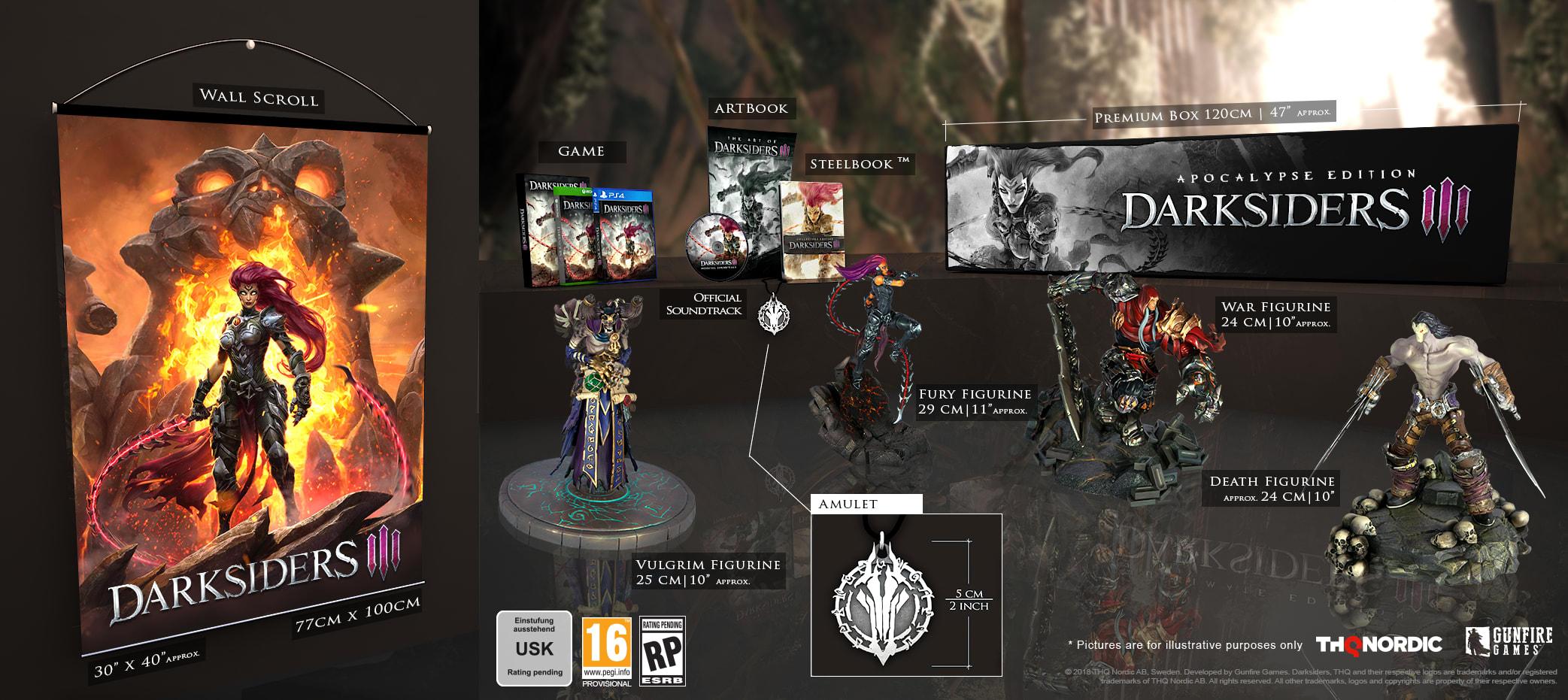 Darksiders III Apocalypse Edition – Xbox