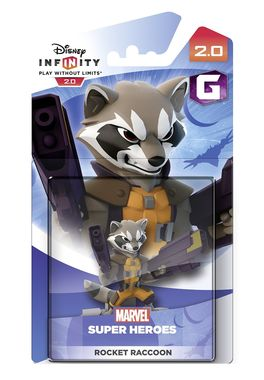 Disney Infinity 2.0 Character - Rocket Raccoon Figure
