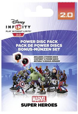 Disney Infinity 2.0 Power Discs Pack 1- Marvel (2 discs)