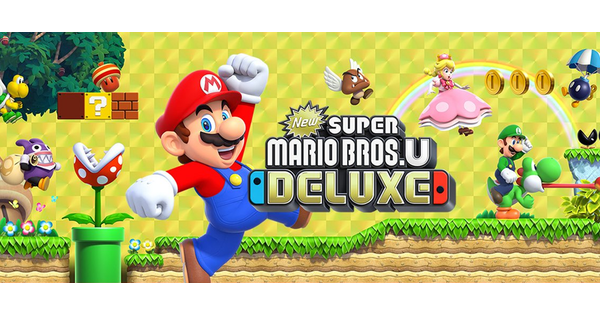 New Super Mario Bros U Is Getting The Deluxe Treatment With 4