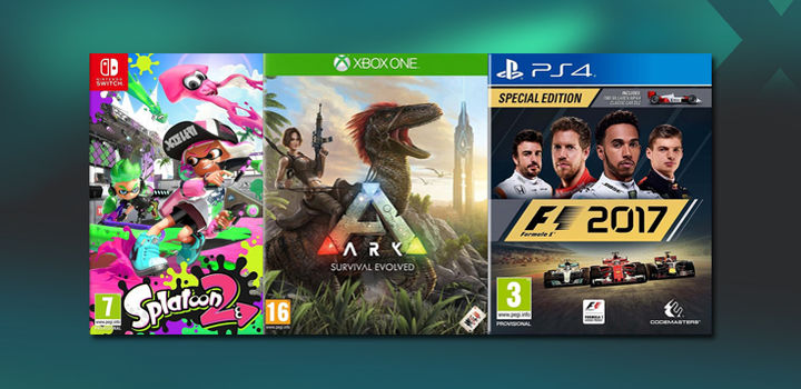 Get up to £34 CASH or £38 in Trade-In for Destiny 2, Mario Kart, NBA and others on PlayStation 4, Xbox One and Switch