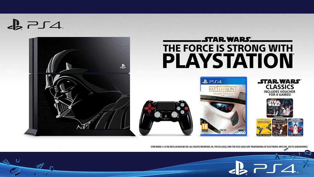 Limited Edition Star Wars Battlefront Playstation 4 1TB
