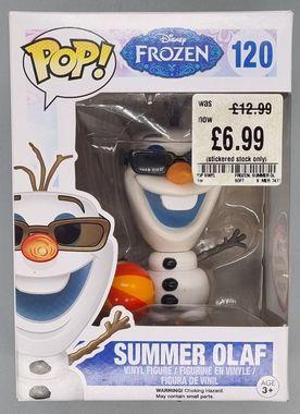 #120 Summer Olaf - Pop Disney - Frozen