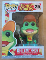 #25 Dig Em' Frog - Pop Ad Icons - Honey Smacks