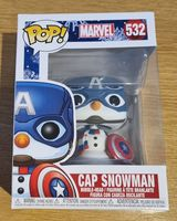 #532 Cap Snowman - Marvel - Holidays