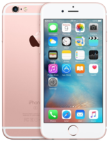Apple iPhone 6S PLUS Rose Gold 128GB - Locked to Network