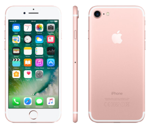 Apple iPhone 7 128GB Rose Gold - Locked to Network