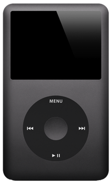Apple iPod Classic 120GB Black