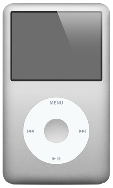 Apple iPod Classic 80GB Silver