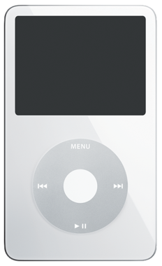 Apple iPod Classic 30GB White