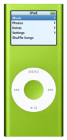 Apple iPod Nano 2nd Gen - 4GB - Green