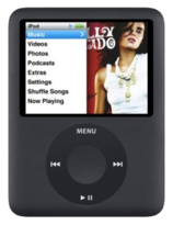 Apple iPod Nano 3rd Gen - 4GB - Black