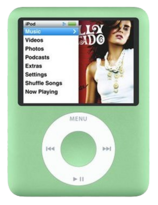 Apple iPod Nano 3rd Gen - 8GB - Green