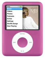 Apple iPod Nano 3rd Gen - 4GB - Pink