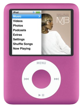 Apple iPod Nano 3rd Gen - 8GB - Pink