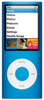 Apple iPod Nano 4th Gen - 16GB - Blue