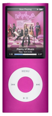 Apple iPod Nano 4th Gen - 16GB - Pink