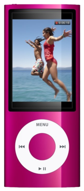 Apple iPod Nano 5th Gen - 8GB - Pink