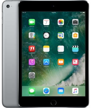 Apple iPad Mini 4 - 128GB - Wi-Fi & Cellular (Unlocked)