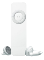 Apple iPod Shuffle 1st Generation 1GB Silver/White