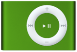 Apple iPod Shuffle 2nd Generation 1GB Green