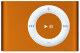 Apple iPod Shuffle 2nd Generation 1GB Orange