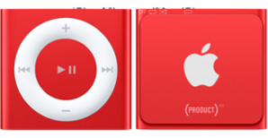 Apple iPod Shuffle 4th Generation 2GB Red