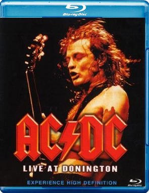 AC/DC Live at Donington Blu Ray