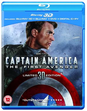 Captain America: The First Avenger (Blu-ray 3D+Blu-ray+DVD)
