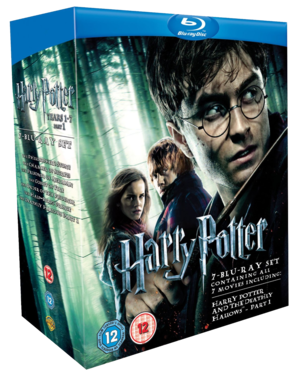 Harry Potter - Films 1-7 Box Set [Blu-ray]