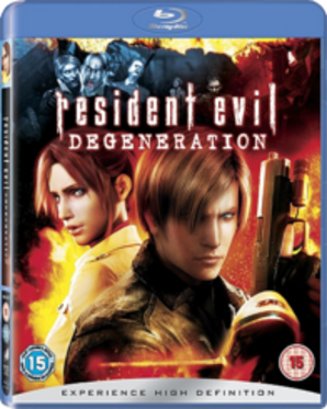 Resident Evil Degeneration Blu-Ray Movie