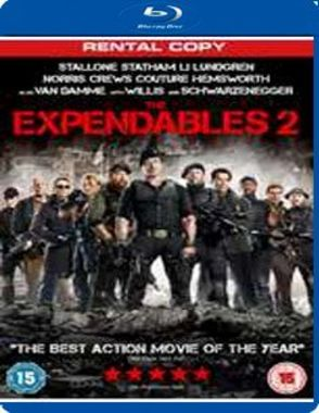 The Expendables 2 [Blu-ray] (Rental Copy)