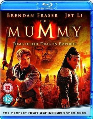 The Mummy Tomb of the Dragon Emperor Blu Ray