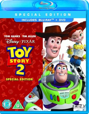 Toy Story 2 Combi Pack (Blu-ray + DVD) [1999]