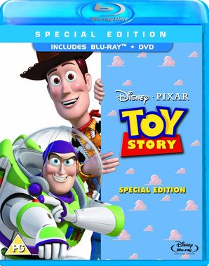 Toy Story Combi Pack (Blu-ray + DVD) [1995]