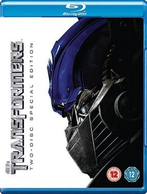 Transformers Two Disc Special Edition Blu-Ray Movie