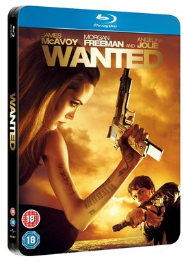 Wanted Limited Edition Steel Book [Blu-ray]