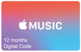 Apple Music Subscription - 12 Months (Digital Product)