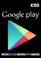 Google Play Gift Card - £50 (Digital Product)