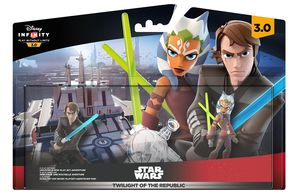 Disney Infinity 3.0 - Twilight Of The Republic Playset