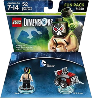 LEGO Dimensions: Fun Pack - DC Batman Bane