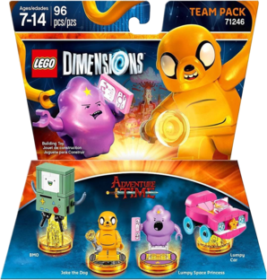 LEGO Dimensions: Team Pack - Adventure Time