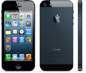 Apple iPhone 5 16GB Black - Locked to Network