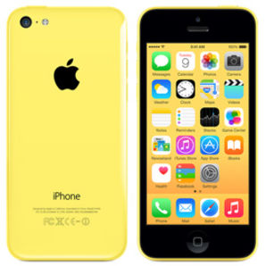 Apple iPhone 5C - 32GB Yellow - Locked to Network