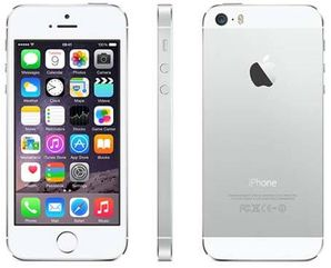 Apple iPhone 5S - 64GB Silver - Locked to Network