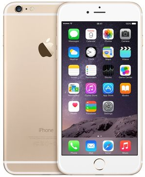 Apple iPhone 6 Plus - 64GB Gold - Locked to Network