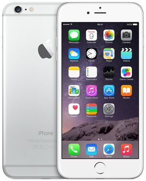 Apple iPhone 6 Plus - 64GB Silver - Locked to Network