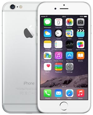 Apple iPhone 6 64GB Silver - Unlocked