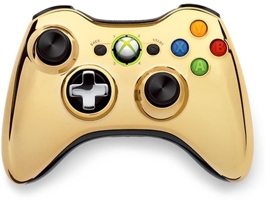 Wireless Controller - Chrome Gold (Xbox 360)
