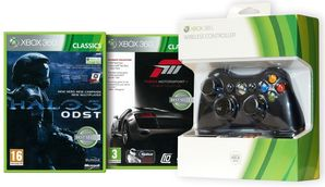 360 Wireless Entertainment Pack (Forza 3 & Halo 3 Classics)